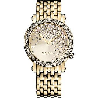 Juicy Couture LA Lux 1901280 Ladies' Gold Tone Stone Set Watch