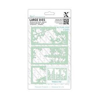 Xcut Large Dies Floral Panel (6pcs) (XCU 503097)