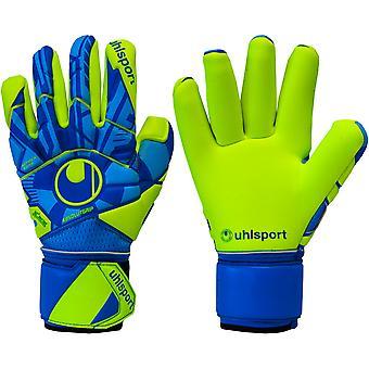 UHLSPORT RADAR CONTROL ABSOLUTGRIP FINGER SURROUND Goalkeeper Gloves Size