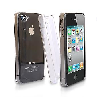 YouSave Accessories iPhone 4 4S Crystal Hard Case Clear