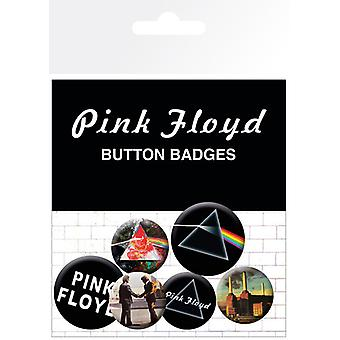 Pink Floyd Album and Logos Badge Pack