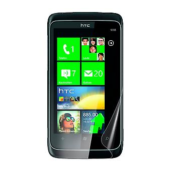 Celicious Vivid Plus Mild Anti-Glare Screen Protector Film Compatible with HTC 7 Trophy [Pack of 2]