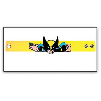 Wristband - Marvel - New Wolverine Rubber Die Cut Yellow Comic wb170805mvl
