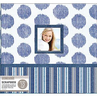 K&Company Patterned Post Bound Window Album 12