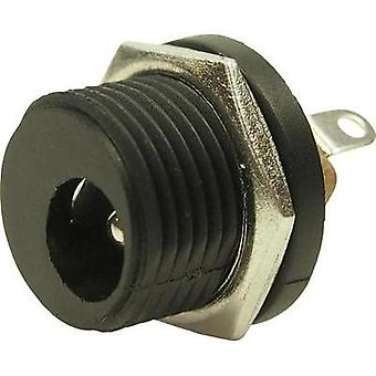 Low power connector Socket, vertical vertical 5.8 mm 2.5 mm