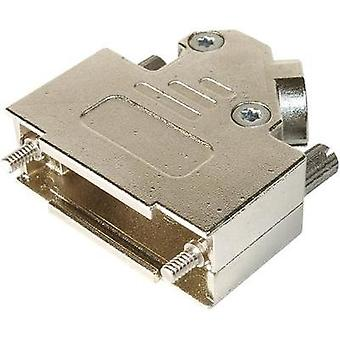 D-SUB housing Number of pins: 37 Metal 45 ° Silver