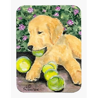 Golden Retriever Mouse Pad / Hot Pad / sottopentola