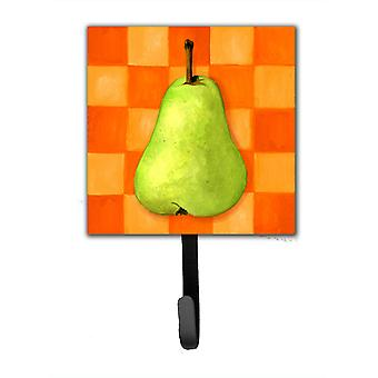 Pear in Orange by Ute Nuhn Leash or Key Holder WHW0117SH4