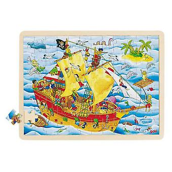 Goki Pirates Lace (Kids , Toys , Table Games , Puzzles)