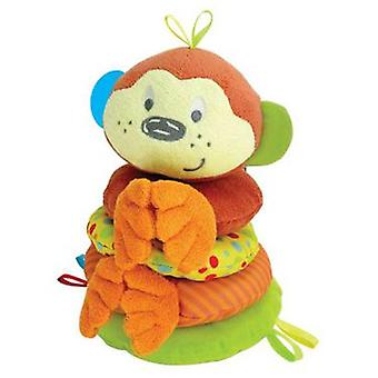 Tachan Funny Little Pals chimp Stackers