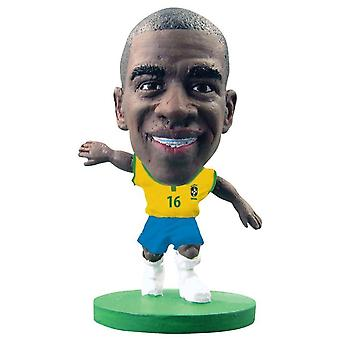 SoccerStarz Figure Brazil Home Kit Ramires
