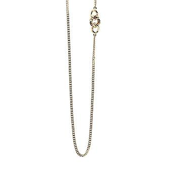 Guess ladies chain necklace stainless steel gold UBN21596