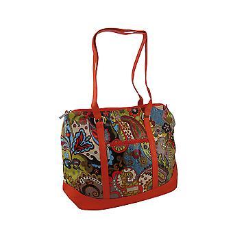 Hadaki Hannah Tote Paisley Print overdimensionerede taske