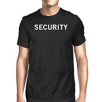 Безопасности мужчин футболку смешные графический рубашка короткий рукав хлопок Tee
