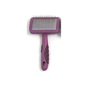 Soft Protection Salon Slicker Brush Med