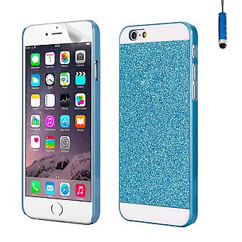 Glitter case cover for Apple iPhone 6 Plus (5.5 inch) - Blue