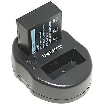 Dot.Foto Fujifilm NP-W126 Replacement Battery + Dual USB Charger