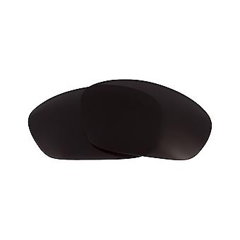 New SEEK Polarized Replacement Lenses for Oakley STRAIGHT JACKET Black