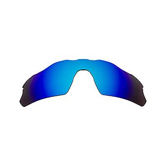 New SEEK Polarized Replacement Lenses for Oakley RADAR EV PITCH Blue Mirror