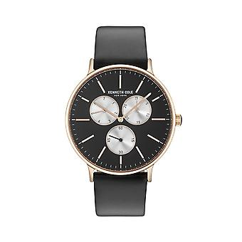 Kenneth Cole New York Herren Uhr Armbanduhr Leder KC14946006