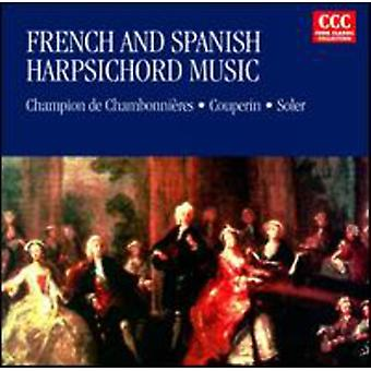 Couperin/Soler - French & Spanish Harpsichord Music [CD] USA import