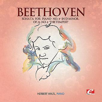L.V. Beethoven - Beethoven: Sonat för Piano nr 17 i D-moll, Op. 31 nr 2 'stormen' [CD] USA import