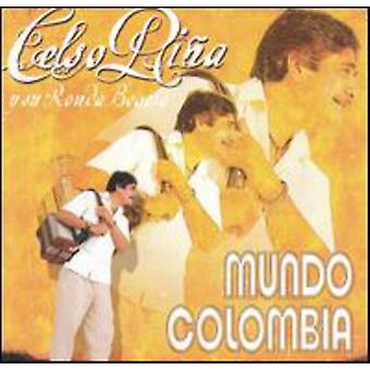 Celso Pina - Mundo Colombia [CD] USA import