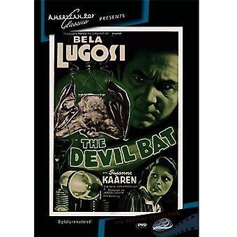 Djævelen Bat [DVD] USA importerer