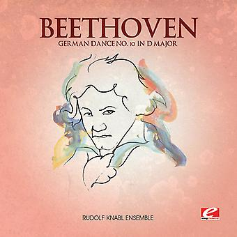 L.V. Beethoven - tyska Dance 10 i D-dur [CD] USA import