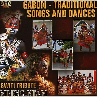 Mbeng-Ntam - importación de Estados Unidos Gabón-canciones y danzas tradicionales [CD]