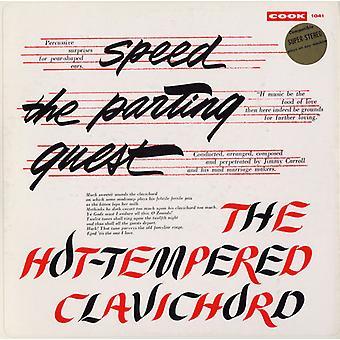 Carroll, Jimmy slagtøjsensemble - hastighed afsked gæst/den hidsige Clavichor [CD] USA importen