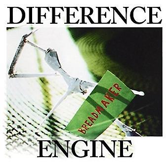 Forskellen motor - bagemaskine [CD] USA importerer