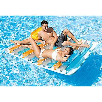 Intex Colchoneta Doble 198x160 (Outdoor , Pool And Water Games , Inflatables)