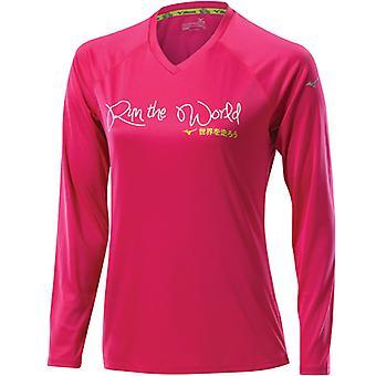 Mizuno Women DryLite I Run LS Tee Laufshirt - 77SP38164