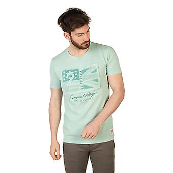 U.S. Polo T-shirts Green Men