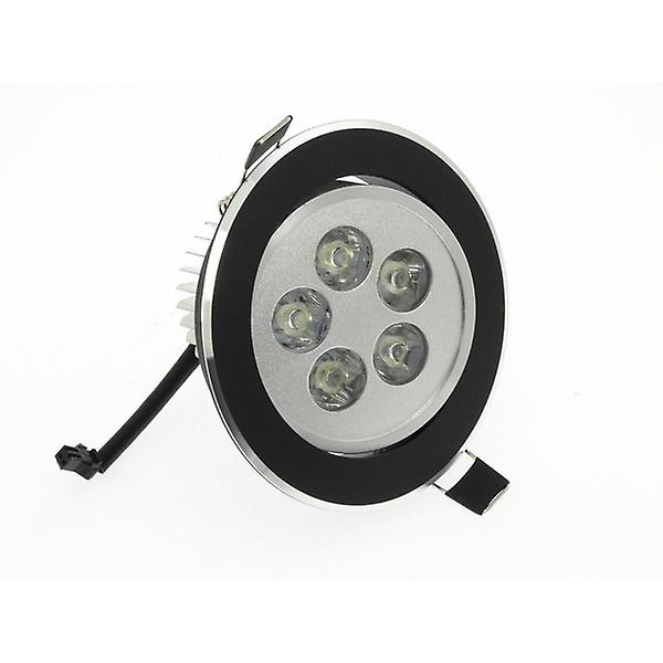 I LumoS High Quality Epistar 5 Watts Black Circle Aluminium Warm White LED Tiltable Recessed Spot Down light