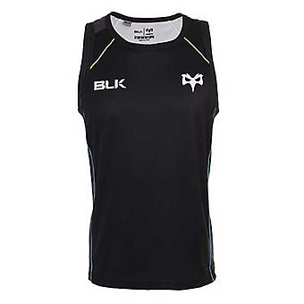 BLK ospreys rugby training singlet [black]