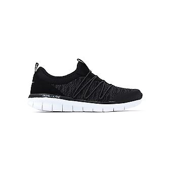 Black Skechers 12379bkw Synergy 2 Simply Chic