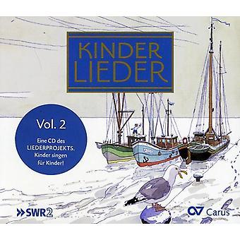 Kinderlieder - Kinderlieder, Vol. 2 [CD] USA importerer