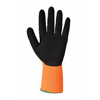 Portwest - Hi-Vis Grip Handschuh (12 Paar Pack)
