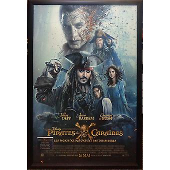 Pirates of the Caribbean French Version - Signed Movie Poster