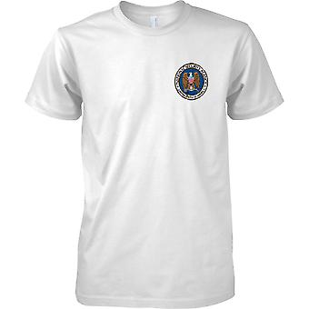 National Security Agency - NSA - US Spy Agency - Military - Kids Chest Design T-Shirt