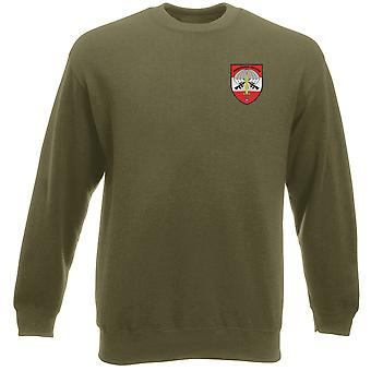 Forze speciali austriaco JAGDKOMMANDO ricamato Logo - Heavyweight Sweatshirt