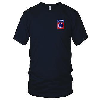 US Army - 508th Airborne Infanteriregiment brodert Patch - Mens T-skjorte