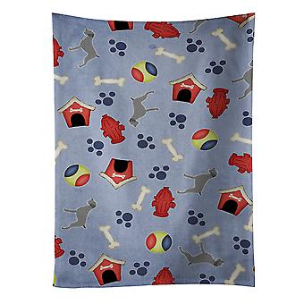 German Wirehaired Pointer Dog House Collection Kitchen Towel