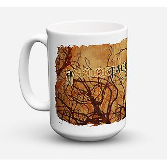 A Spook Tacular Day Halloween Dishwasher Safe Microwavable Ceramic Coffee Mug 15
