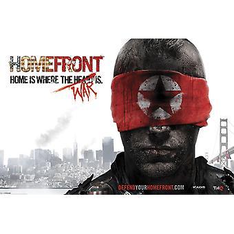 Homefront The Revolution - Blindfold Poster Poster Print