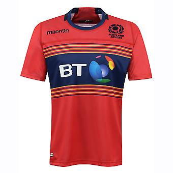 2016-2017 Skotland 7s Poly lager Rugby Shirt