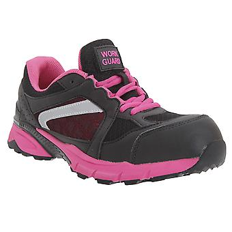 Result Womens/Ladies Work-Guard Lightweight Lace Up S1P Safety Trainer