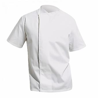 Premier Unisex Culinary Pull-on - Chefs Short Sleeve Tunic